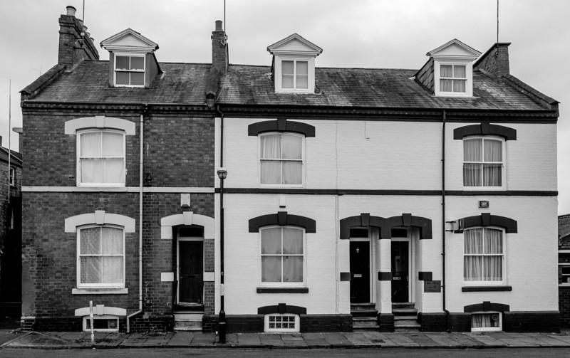 Block of three houses, Castilian Terrace, Northampton