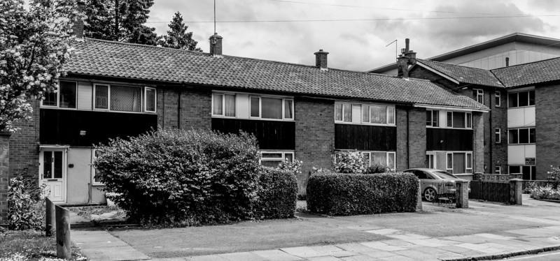 Sixties houses, Castle Hill, Northampton
