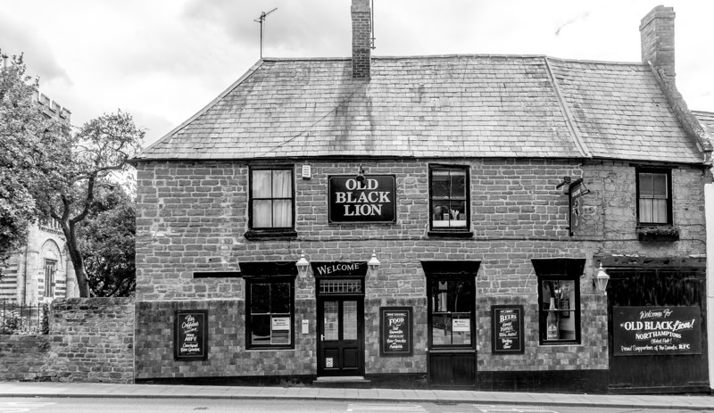 Old Black Lion, Black Lion Hill, Northampton