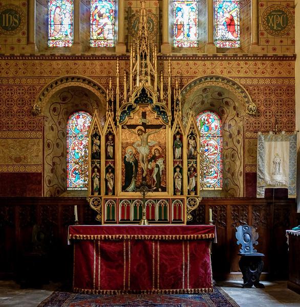 Altar, St Peter's Church, Black Lion Hill, Northampton