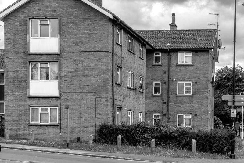 !960s flats, Castle Hill, Northampton