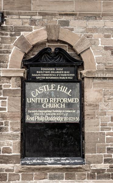 The URC take over, Castle Hill, Northampton