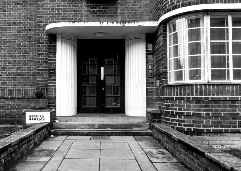 Door case, Bedford Mansion, Derngate. Northampton
