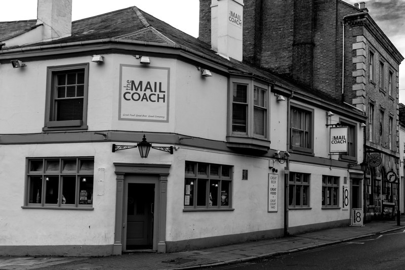 Mailcoach, Derngate. Northampton