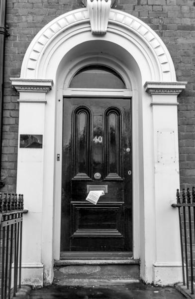 Doorcase, 40 Derngate. Northampton