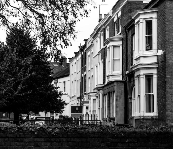 Castilion Street from Derngate. Northampton