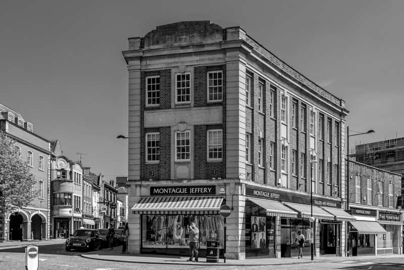 Montague Jeffery, Guildhall Road, Northampton
