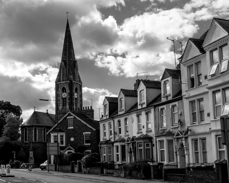 Three storey houses, Far Cotton, Northampton