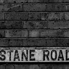 Cast Iron Street Sign, Thirlestane Road,  Northampton