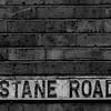 Cast Iron Street Sign, Thirlestane Road,  Northampton