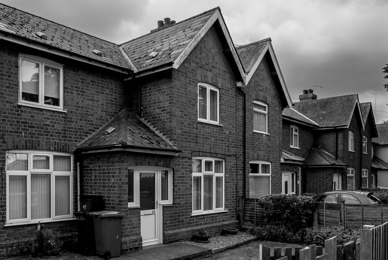 1920s houses, Queen Eleanor Road, Northampton