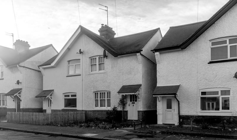 LNWR Railway workers cottages (built 1913), Claugton Road,  Far Cotton, Northampton