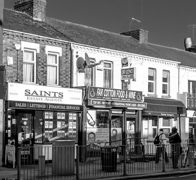 Shops, Saint Leornard's Road, Northampton