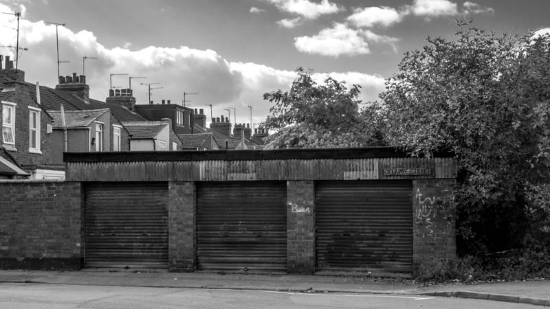 Garages, Delapre Street, Far Cotton, Northampton