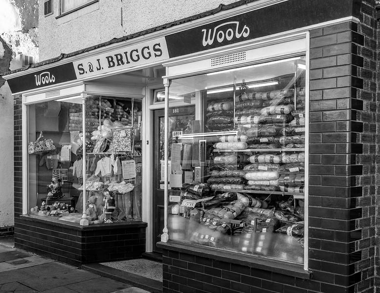 S and J Briggs, Wool Shop, Euston Road, Northampton