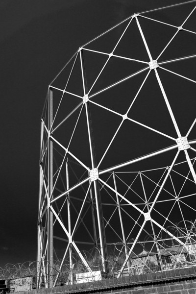 Joining plate, Northampton Gas Holder number 2, April 2013