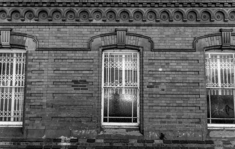 Window detail, Northampton Gas Light, Northampton