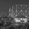 Northampton Gas Holder number 2 and Tanner Street, April 2013