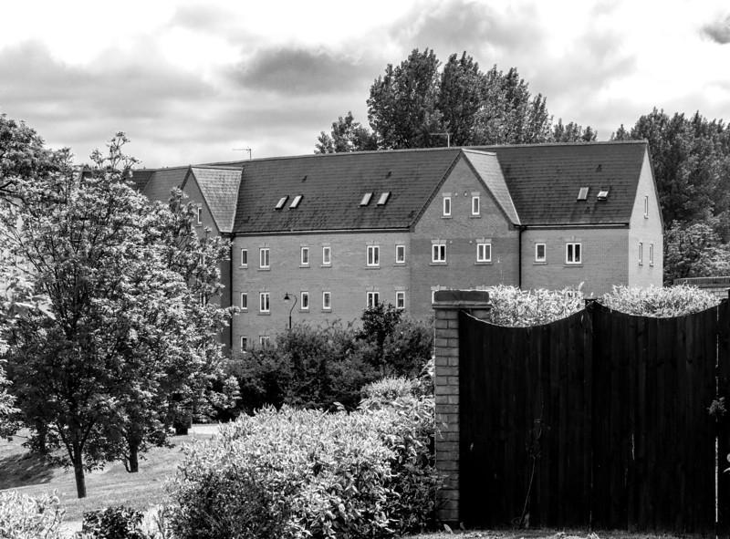 Small windows, Grange Park, Northampton