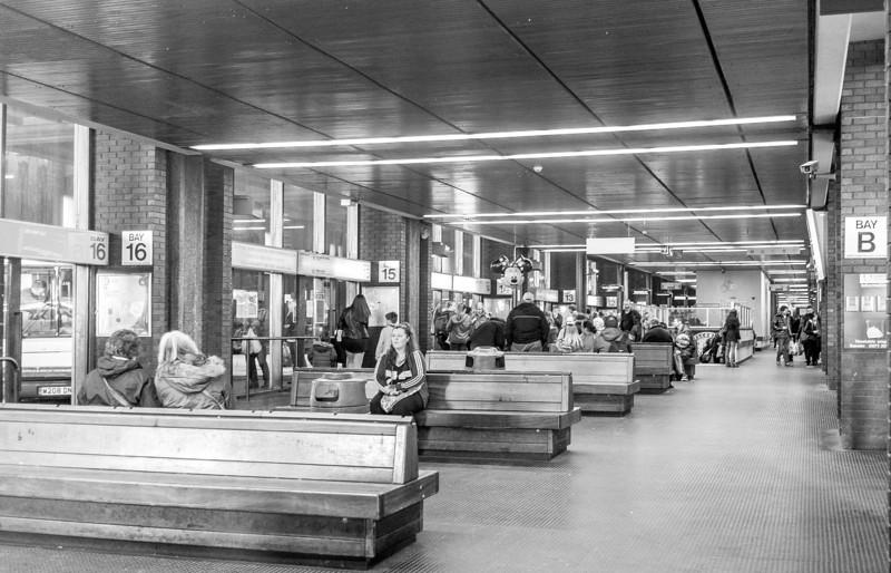 Greyfriars Bus Station, last date of operation, Northampton