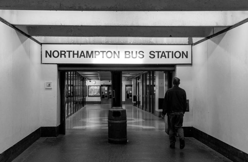 Entrance, Greyfriars Bus Station, Northampton, May  18 2013