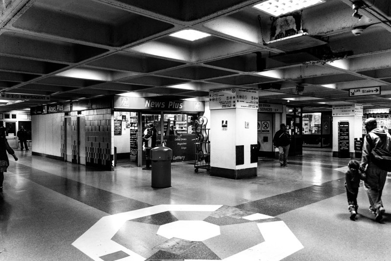 Circulation area, Greyfriars Bus Station, Northampton, May  18 2013