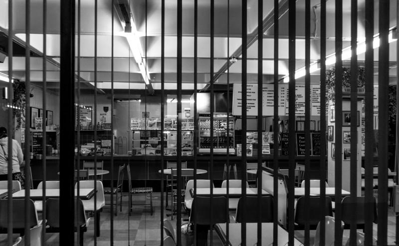 Cafe, Greyfriars Bus Station, Northampton, May  18 2013