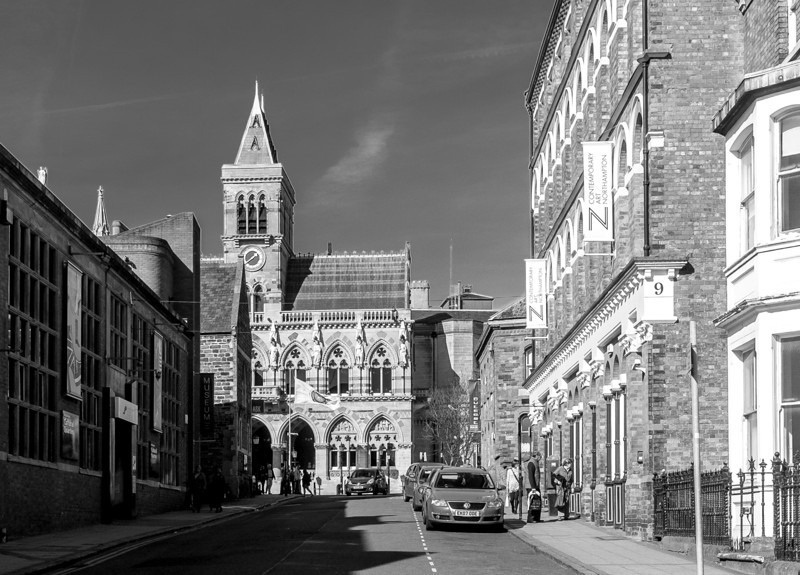 Guildhall from Guilhall Road, Northampton