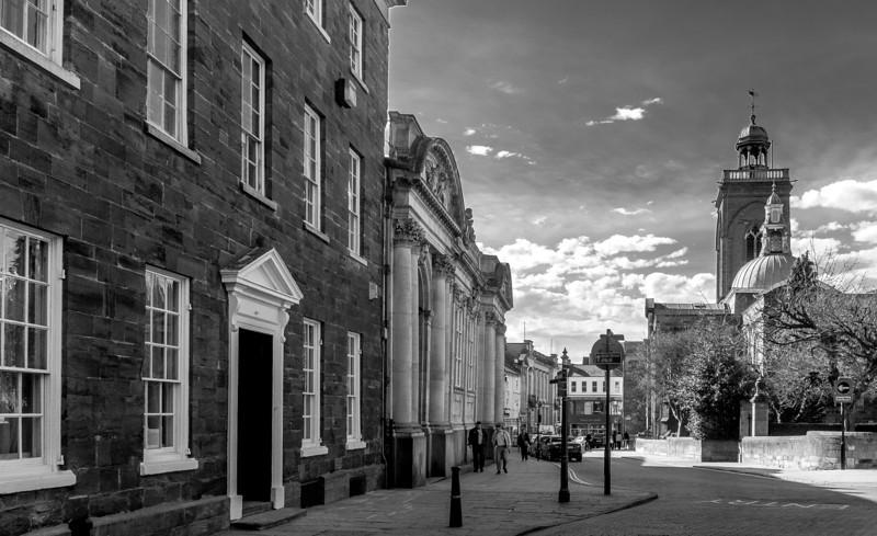 Looking towards Gold Street, George Row, Northampton