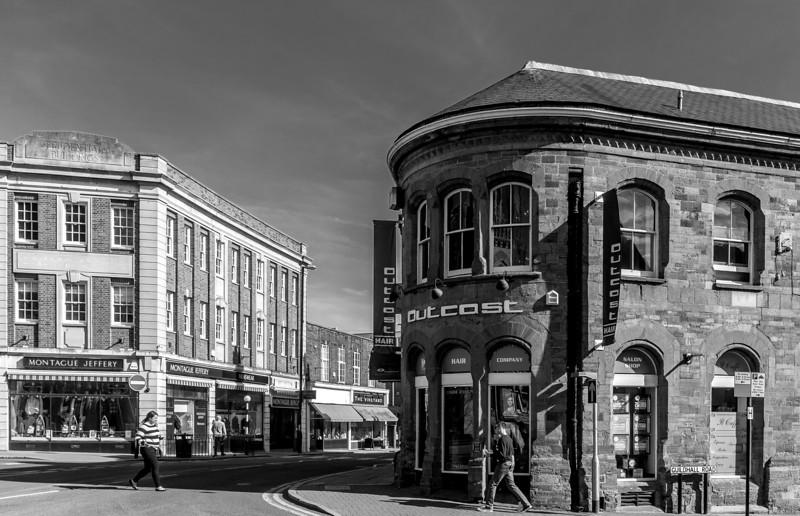 Looking towards Derngate, Northampton