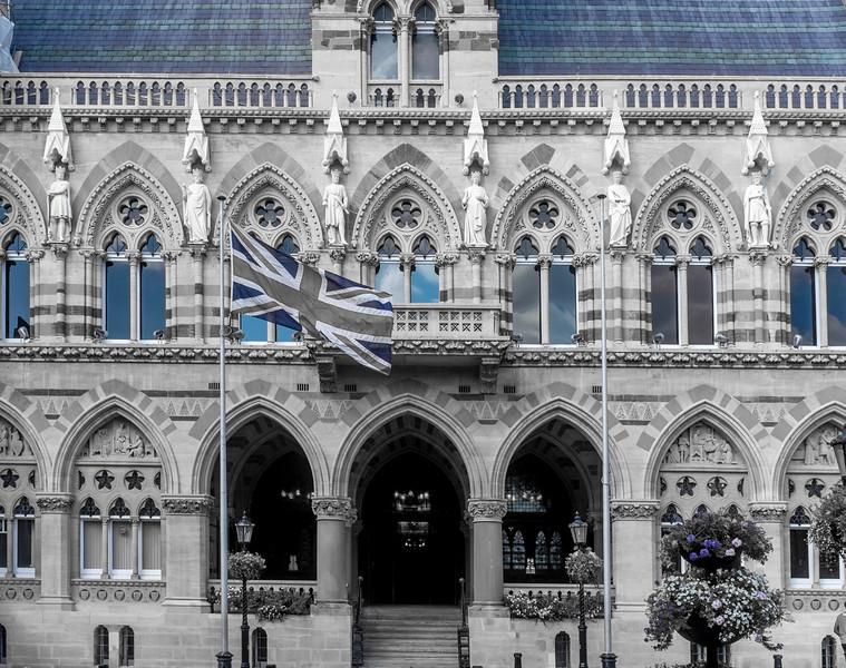 Flag, Guildhall, Northampton