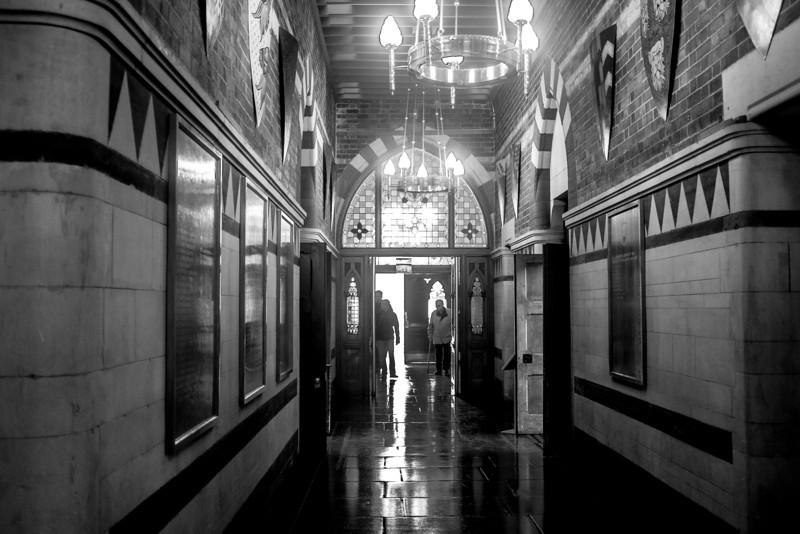 Corridor Northampton Guildhall
