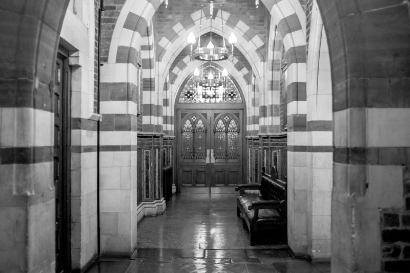 Corridors of power, Guildhall, Northampton
