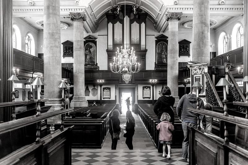 Interior 2, AllSaints Church, Northampton