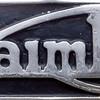 Makers plate, JVV 287G, Daimler Northampton Corportaion bus, George Row, Northampton