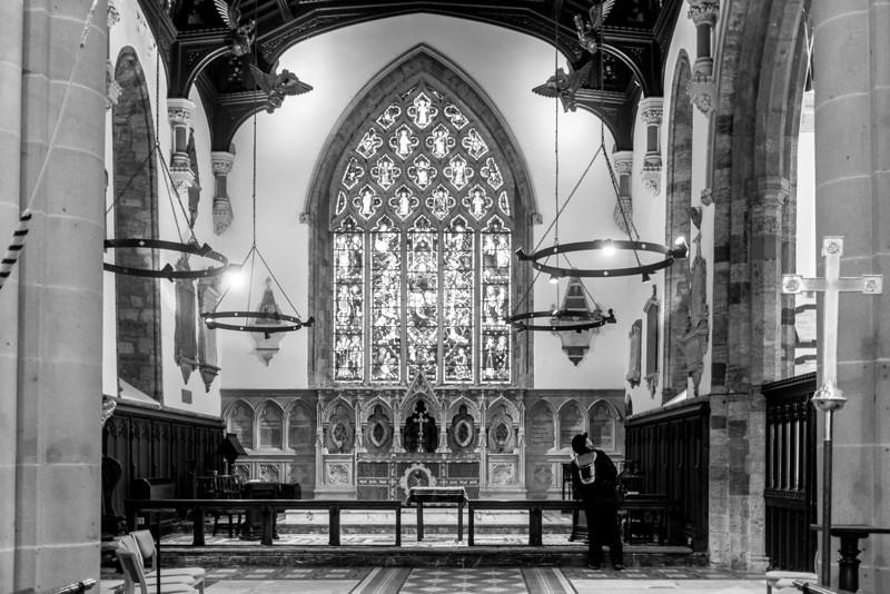 Altar, St Giles Church, Northampton