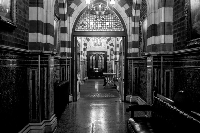 Titled Hallway, Northampton Guildhall