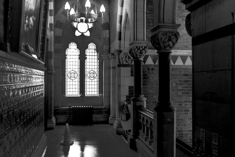 Stairwell, Northampton Guildhall