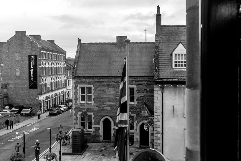 View from Northampton Guildhall