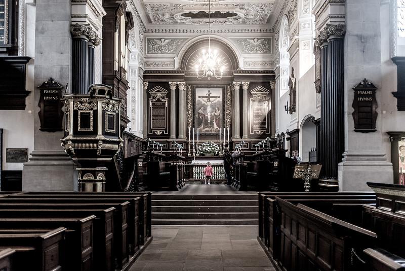 Interior, AllSaints Church, Northampton