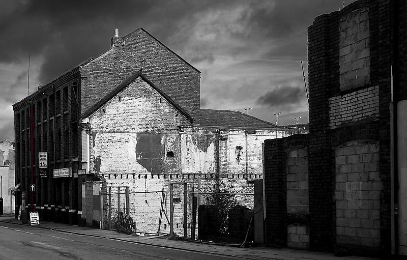 Northampton, demolished factory