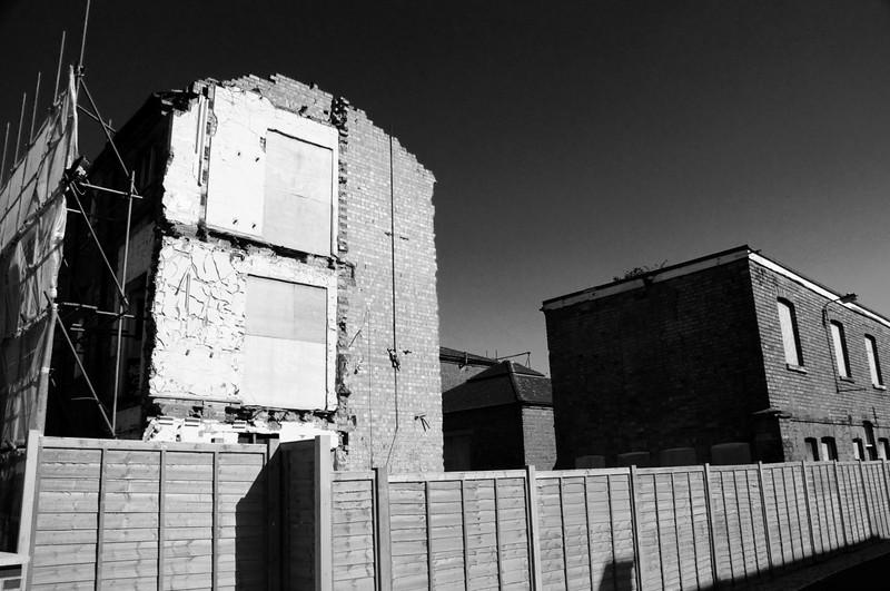 St Edmunds demolition, Northampton