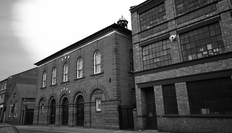 Shoe factory and chapel, Northampton