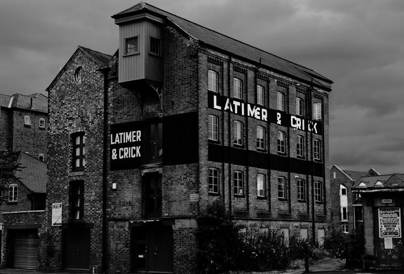 Latimer & Crick grain warehouse, Northampton