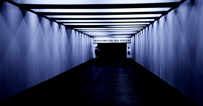 Corridor, Bus Station, Northampton