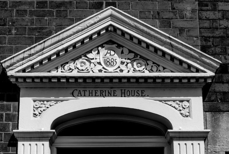 Doorcase Pedement, Catherine House, Kingsley Road, Northampton