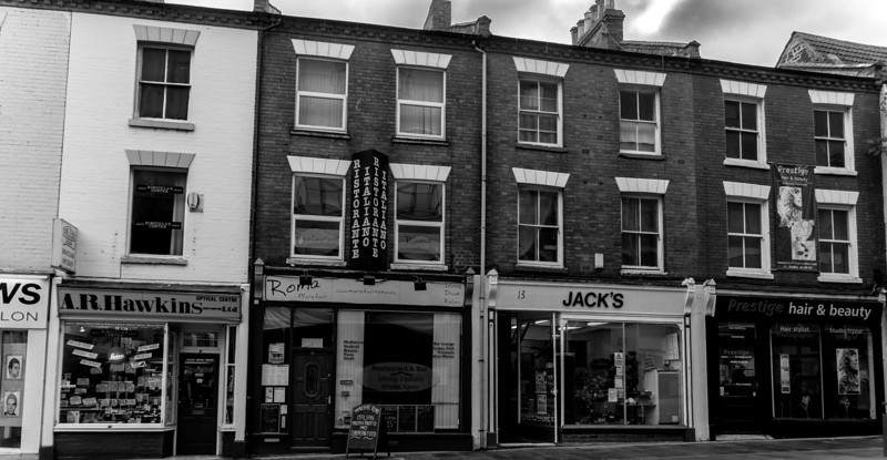 Victorian shops Mare Fare, Northampton