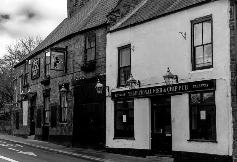 The old Black Lion, Black Lion Hill, Northampton