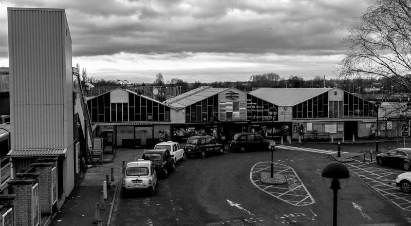 BR Castle Station (1965-6), Northampton Castle, Northampton