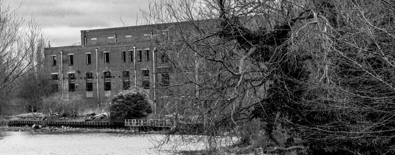 View from Nunn Mills Power Station, Northampton  2013